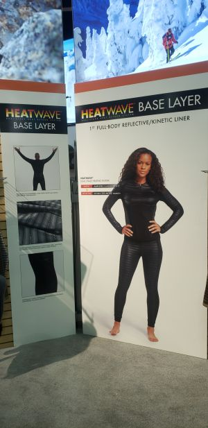 Seirus Heated baselayers - NO batteries!