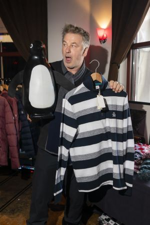 Alec Baldwin checking out Original Penguin