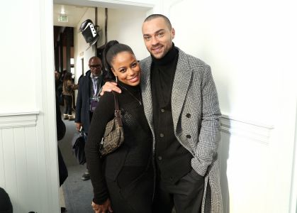 Taylour Paige and Jesse Williams