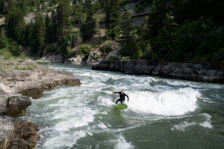 Gannett Horn - River Surfer