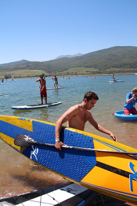 Paddle boarding will be demoed at the Big Gear Show