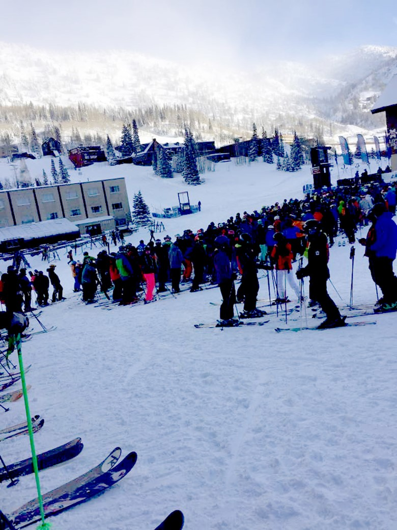 Opening Day at Alta