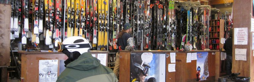 buy new skis