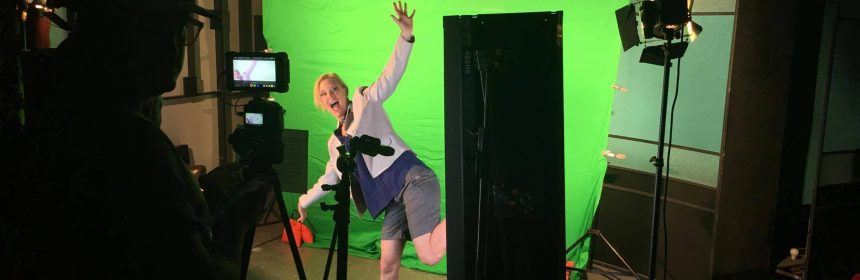 Acting in Front of a Green Screen