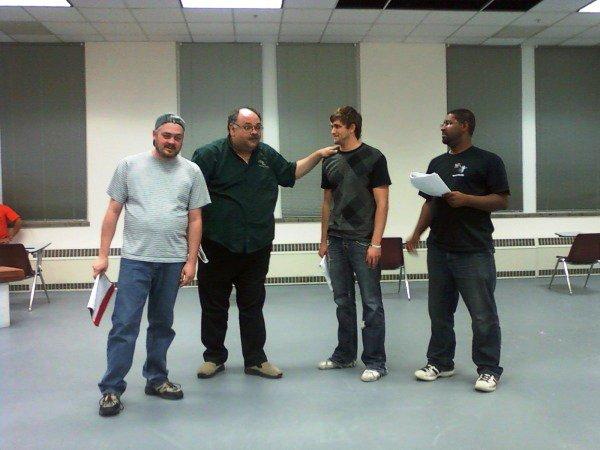 Frank Gerrish Teaching an Acting Class