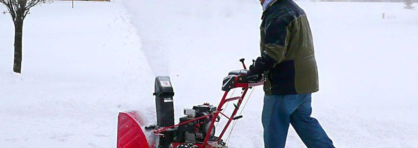 snowblower prep