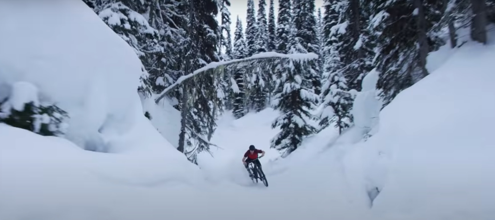 Snowbiking in 5Point Adventure Film Festival