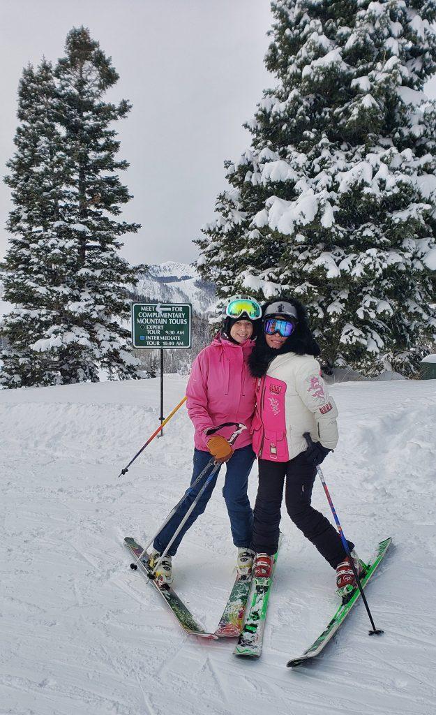 ski friends