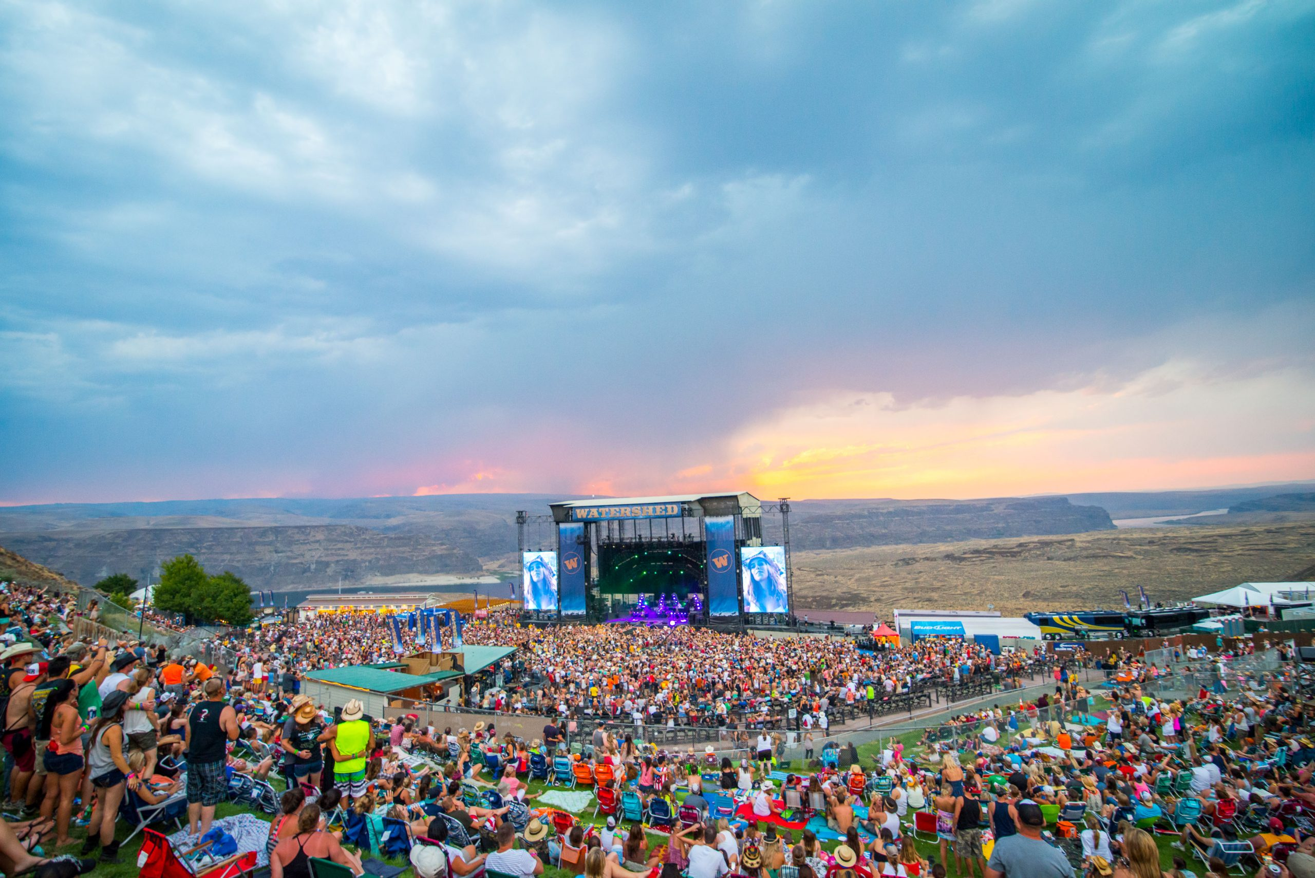 Watershed Festival Crowd